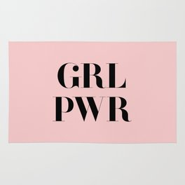 Girl Power - GRL PWR Rug