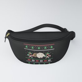 Guinea pig Dad ugly Christmas sweater desing Fanny Pack