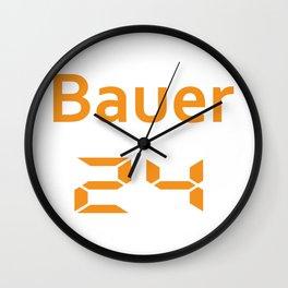 Bauer 24 Wall Clock