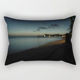 bora bora blue Rectangular Pillow