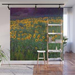 Sunflower Sunset Wall Mural