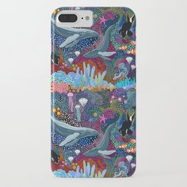 Whale Ocean Life iPhone Case