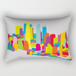 New WTC Isometric Rectangular Pillow