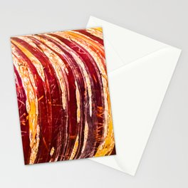 Red, yellow, brown bark of a tree - autumn colours of nature Stationery Cards
