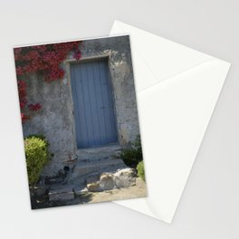 Blue door French Riviera Stationery Cards