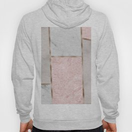Pink stones - rose gold adorns Hoody