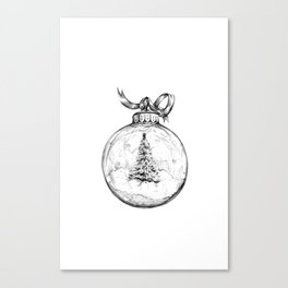 Christmas Bauble Canvas Print