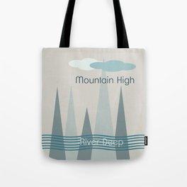 River Deep Tote Bag