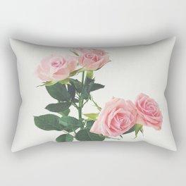 Spring Roses Rectangular Pillow