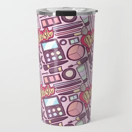 Makeup Print Travel Mug