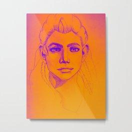 Aloy Sunrise Metal Print