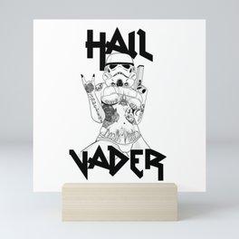 Hail Vader Mini Art Print