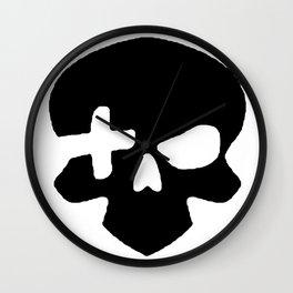 Skull plus Wall Clock