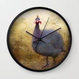 I love Guinea Fowl! Wall Clock