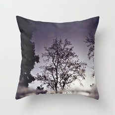 Puddletree Throw Pillow
