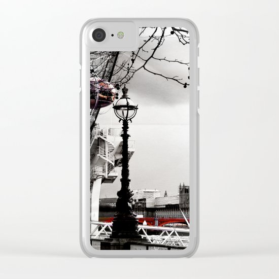london love Clear iPhone Case