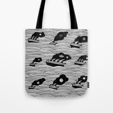 Starships Tote Bag