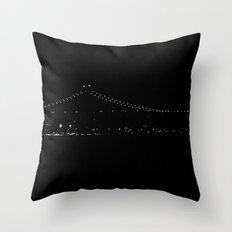 Night Pearls Throw Pillow