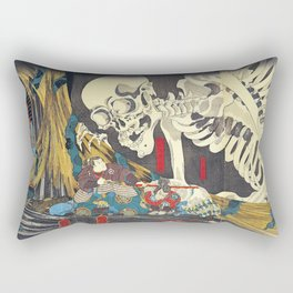 Utagawa Kuniyoshi Takiyasha The Witch Rectangular Pillow
