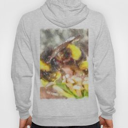 Busy Busy Busy Watercolor Hoody