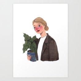Antonieta Art Print