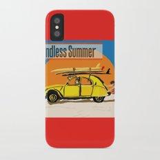 An Endless Summer bummer iPhone X Slim Case