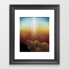 Sam and Dean Framed Art Print