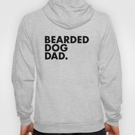 Bearded Dog Dad Hoody