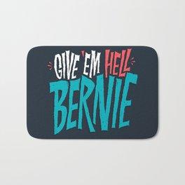 Give 'em Hell Bernie Bath Mat