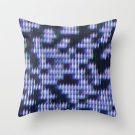 Painted Attenuation 1.3.3 Throw Pillow