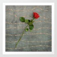 Symbol of Love Art Print