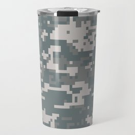 Digital Camouflage Travel Mug