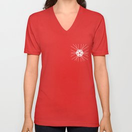 Wheel Pocket invert Unisex V-Neck