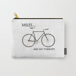 Miles Are My Therapy Carry-All Pouch