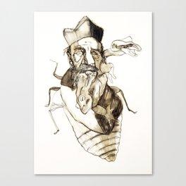 Tristan Corbière, Thick Black Trace, Vendetta Canvas Print
