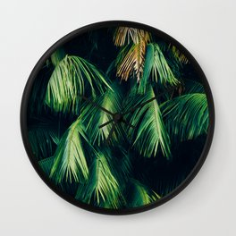 The Evergreen Needles (Color) Wall Clock