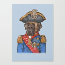 General English Mastiff Canvas Print