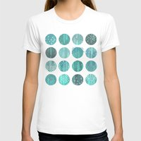 celestial T-shirts featuring CELESTIAL BODIES - MIDNIGHT by Daisy Beatrice