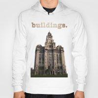 buildings Hoodies featuring Buildings by Wis Marvin