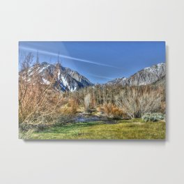Lazy Afternoon at the Lake Metal Print
