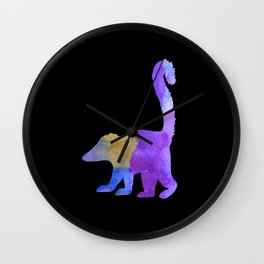 Coati Wall Clock
