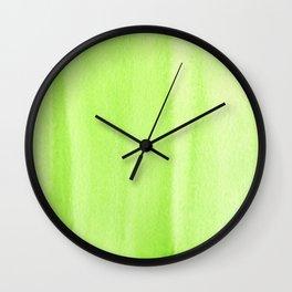 151208 17.Green Light Wall Clock