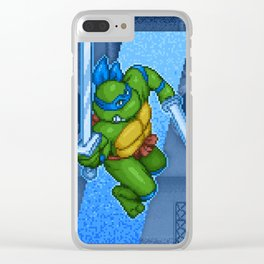 Leonardo Leads Clear iPhone Case