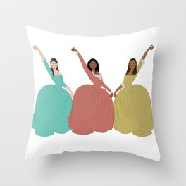 History is Happening Throw Pillow