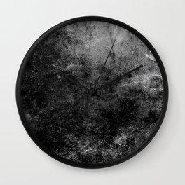 Grunge Gray Wall Clock
