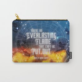 Zodiac - Everlasting Flame Carry-All Pouch