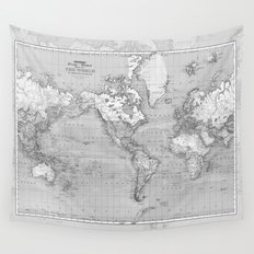 Atlas of the World Wall Tapestry