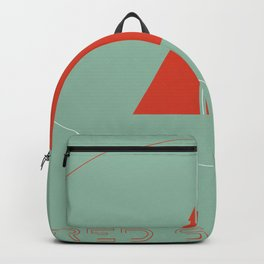 inspired by song .. red sails Backpack