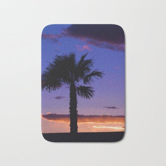 Palm Sunset - V Bath Mat