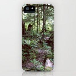 Vancouver Island Rainforest iPhone Case